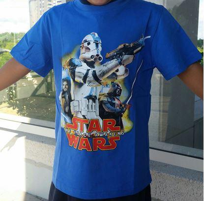 Short Sleeve T-Shirt 3D Character