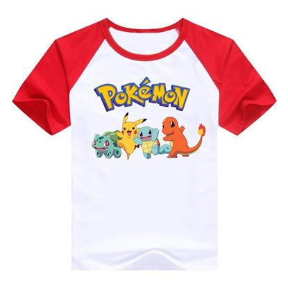 "Boys Pokemon ""Pikachu Charmander"" T-Shirt"