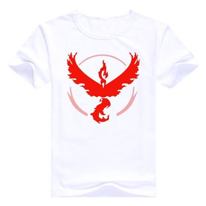 "Mens Pokemon Go T-Shirt ""Team Valor"" brand"