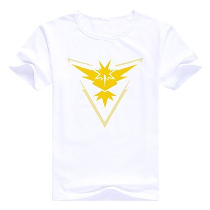 "Mens Pokemon Go T-Shirt ""Team Instinct"" brand"